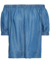 Kate Spade Chemise en jean - Bleu