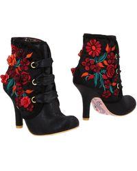 Irregular Choice Ankle Boots - Black