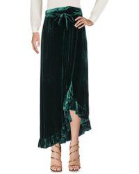 Raquel Diniz Long Skirt - Green