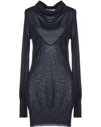 Nioi Kurzes Kleid - Blau