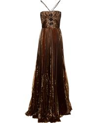 DSquared² Long Dress - Blue