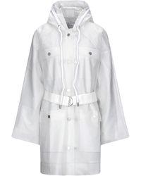 Proenza Schouler Overcoat - White