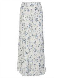 be Blumarine Long Skirt - White
