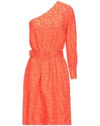 Aglini Kurzes Kleid - Mehrfarbig