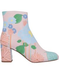 Camilla Elphick Ankle Boots - Pink
