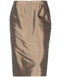Gai Mattiolo Couture - 3/4 Length Skirt - Lyst
