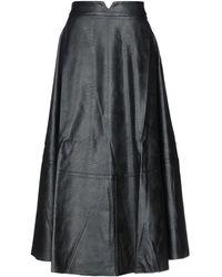 Relish Long Skirt - Black