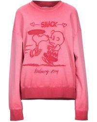 Iceberg Sweatshirt - Pink