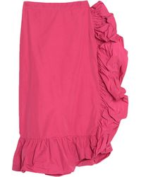 Ainea Midi Skirt - Pink