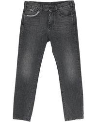 Pence Denim Trousers - Black