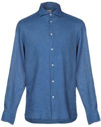 Drumohr Camisa - Azul