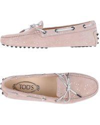 Tod's Mocasines - Rosa