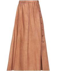 Vintage De Luxe Falda midi - Multicolor