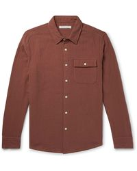 Outerknown Camisa - Marrón