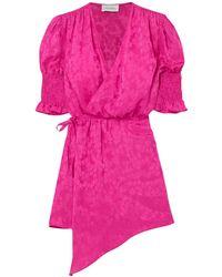 Art Dealer Short Dress - Pink