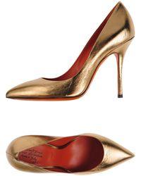Santoni Zapatos de salón - Metálico