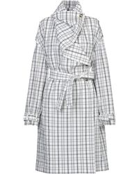 AALTO Overcoat - White