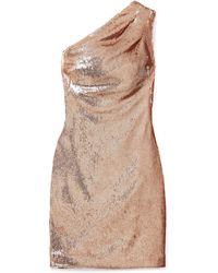 Haney Short Dress - Brown