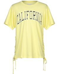 Faith Connexion T-shirt - Yellow
