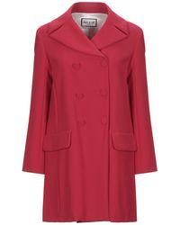 Paul & Joe Overcoat - Red