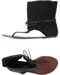 KMB - Toe Post Sandal - Lyst