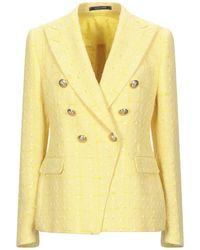 Tagliatore 0205 Suit Jacket - Yellow