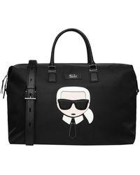 Karl Lagerfeld Handbags - Black