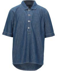 Holzweiler Denim Shirt - Blue