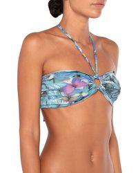 Just Cavalli Sujetador bikini - Azul