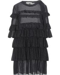 THE M.. Robe courte - Noir