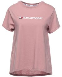 Tommy Sport T-shirts - Pink