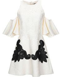 Fausto Puglisi - Cold Shoulder Lace Dress - Lyst