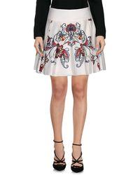 Dondup Midi Skirt - White