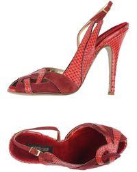 Roberto Cavalli Sandals - Red