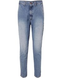 Bassike Denim Trousers - Blue