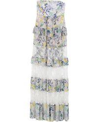 Annarita N. Vestido largo - Blanco