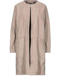 Manzoni 24 Overcoat - Natural
