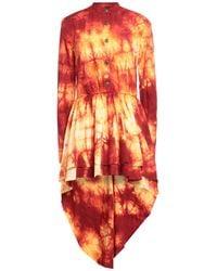 Bad Spirit Short Dress - Red