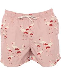 SELECTED Swimming Trunks - Pink