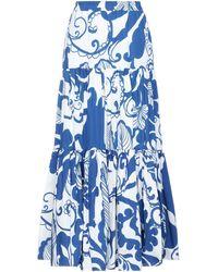 La DoubleJ Falda larga - Azul