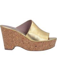 Diane von Furstenberg Sandals - Metallic