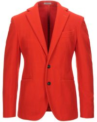 Boglioli Suit Jacket - Red