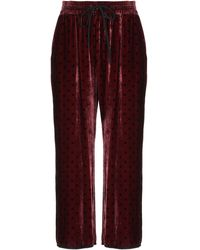 Ottod'Ame Trousers - Purple