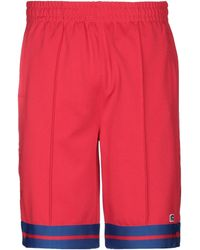 Russell Athletic Shorts & Bermuda Shorts - Red