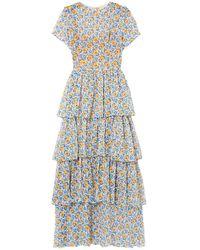 HVN Long Dress - White