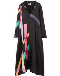 Louisa Parris Long Dress - Black