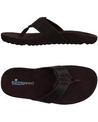 Timberland Toe Strap Sandals - Brown