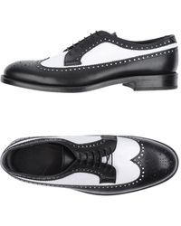 Mauro Grifoni Chaussures à lacets - Noir