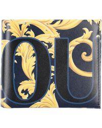 Versace Jeans Couture Portefeuille - Bleu