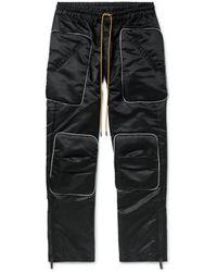 Rhude Pantalones piratas - Negro